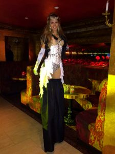 Stilt Walker Washington DC Anna Pineapple