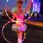 LED Performer Washington DC Anna Pineapple