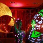 LED Performer Washington DC Anna Pineapple
