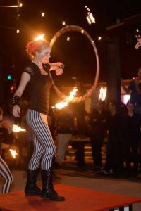 Fire Dance Anna Pineapple